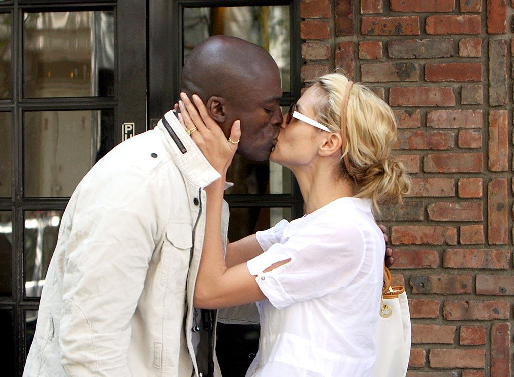 "Heidi Klum gives hubby Seal a quick kiss goodbye. They're one of the busiest couples in showbiz! Abbot/Daniel/<a href=""http://www.infdaily.com"" target=""new"">INFDaily.com</a> - June 13, 2008"