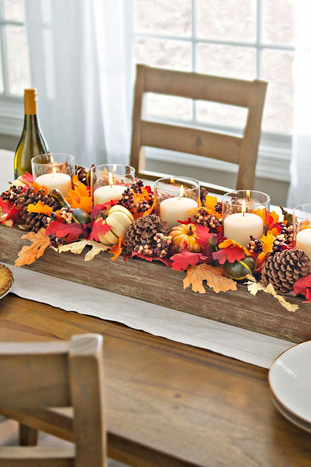 30 Beautiful And Cozy Fall Dining Room Décor Ideas: 43 Gourd-geous Fall Centerpieces To DIY This Weekend
