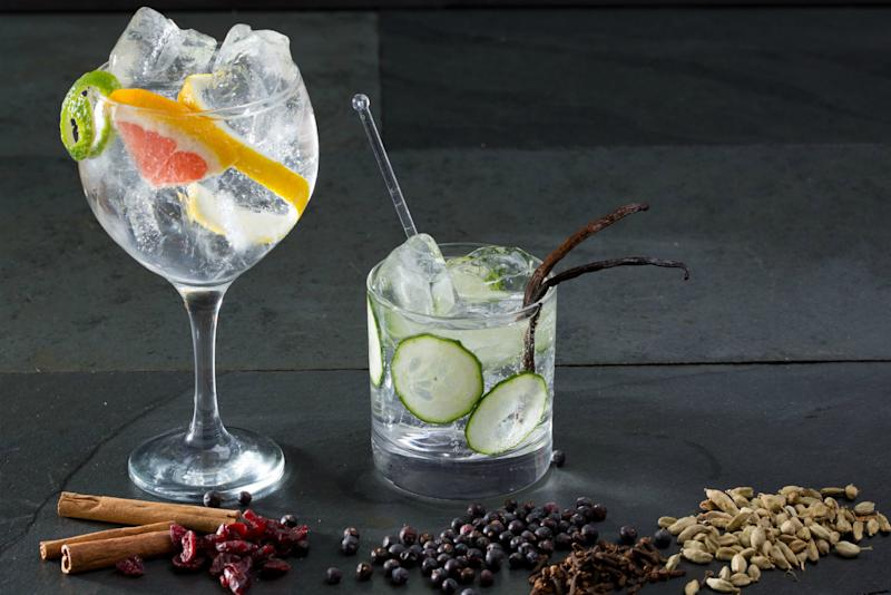 how to turn vodka into gin
