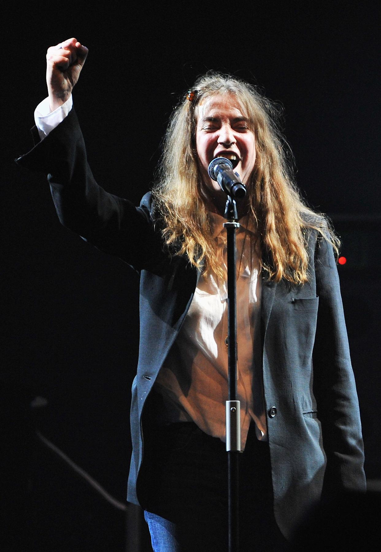 Patti Smith performs in 2010. (Photo: Francois Durand/Getty Images)