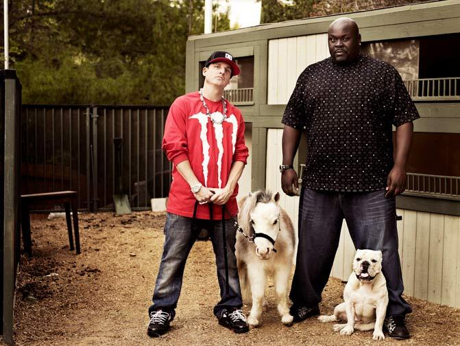 Robert Dyrdek and Christopher Boykin star in Rob & Big.