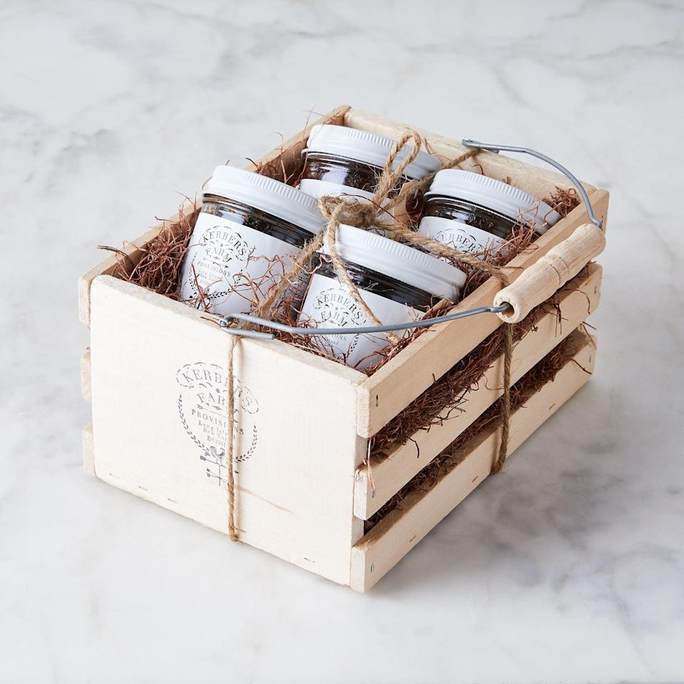 <p>This <span>Kerber's Farm Homemade Jam Gift Sampler</span> ($68) is such a sweet present.</p>