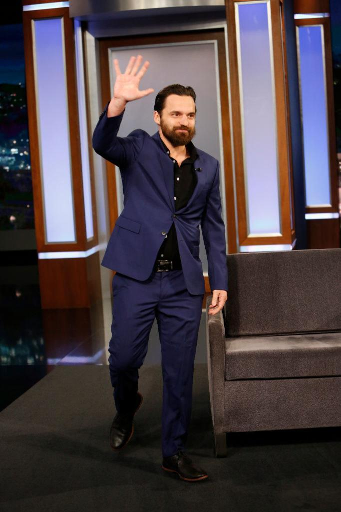 The 43-year-old actor sat down with BuzzFeed to talk about his first times just last month. He recently wrote and starred in Ride the Eagle, and you've probably seen him in Safety Not Guaranteed, Jurassic World, or recognized his voice in Spider-Man: Into the Spider-Verse.