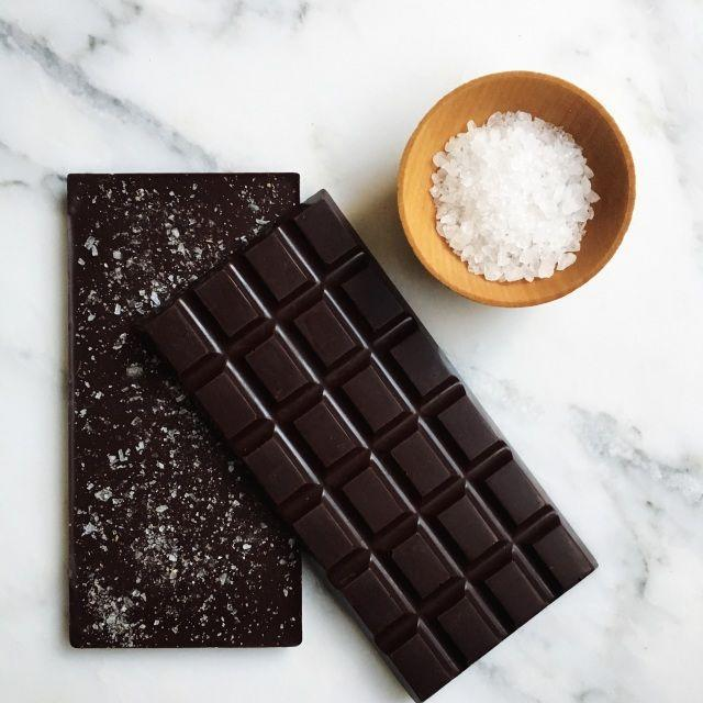 """<p>Chocolata Chocolate</p><p><strong>$9.00</strong></p><p><a href=""""https://www.chocolatachocolate.com/store/p6/Night_Sky_Bar.html#/"""" rel=""""nofollow noopener"""" target=""""_blank"""" data-ylk=""""slk:Shop Now"""" class=""""link rapid-noclick-resp"""">Shop Now</a></p><p>This bar, called """"Night Sky,"""" is for the chocolate lover in your life. Dark as a moonless night, but sprinkled with a constellation of sea salt, it's perfect for nibbling slowly, enjoying every morsel.</p>"""