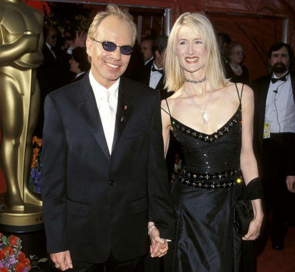 PHOTO: Billy Bob Thronton and Laura Dern arrive for the 71st Annual Academy Awards at Dorothy Chandler Pavilion in Los Angeles, March 21, 1999. (Ron Galella Collection via Getty Images, FILE)