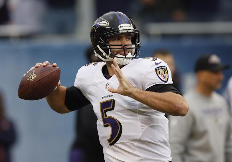 Flacco criticizes Ravens' use of wildcat offense