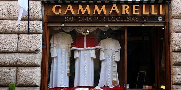 The Papal Tailors Await the Next Pope