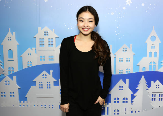 Maia Shibutani opened up about some scary health news on Instagram. (Photo by Tiffany Rose/Getty Images for Instagram)