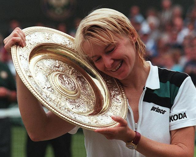 <p>Jana Novotna (1968-2017): Wimbledon champion who was once ranked No. 2 in the world. </p>