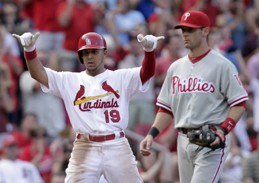 Cardinals upend Phillies 3-1