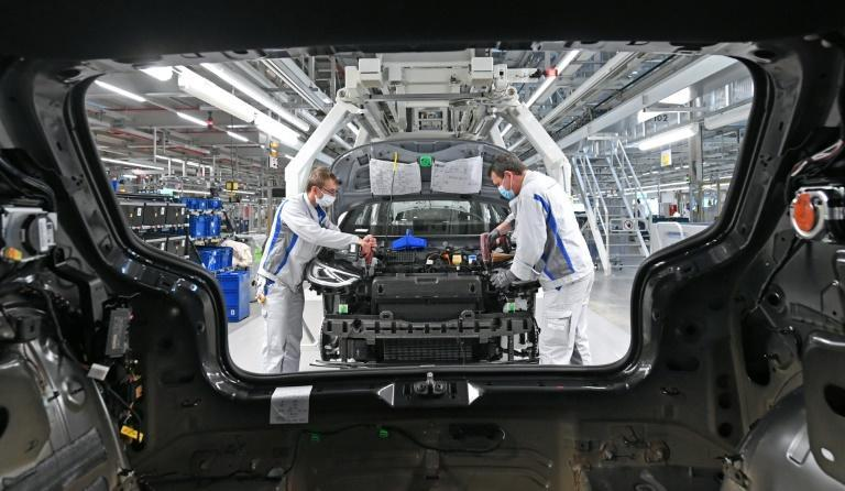VW was one of the global companies reporting the impact of the pandemic on its results