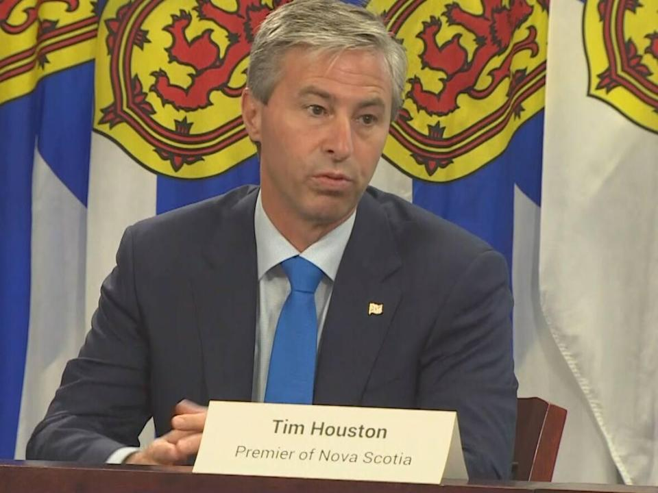 Premier Tim Houston says he wants to ensure the Office of African Nova Scotian Affairs serves the community. (CBC - image credit)