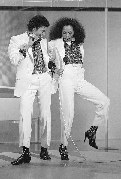 <p>Diana Ross wore the classic pump, which was also an '80s office-attire staple, during this CBS television special with Michael Jackson. </p>
