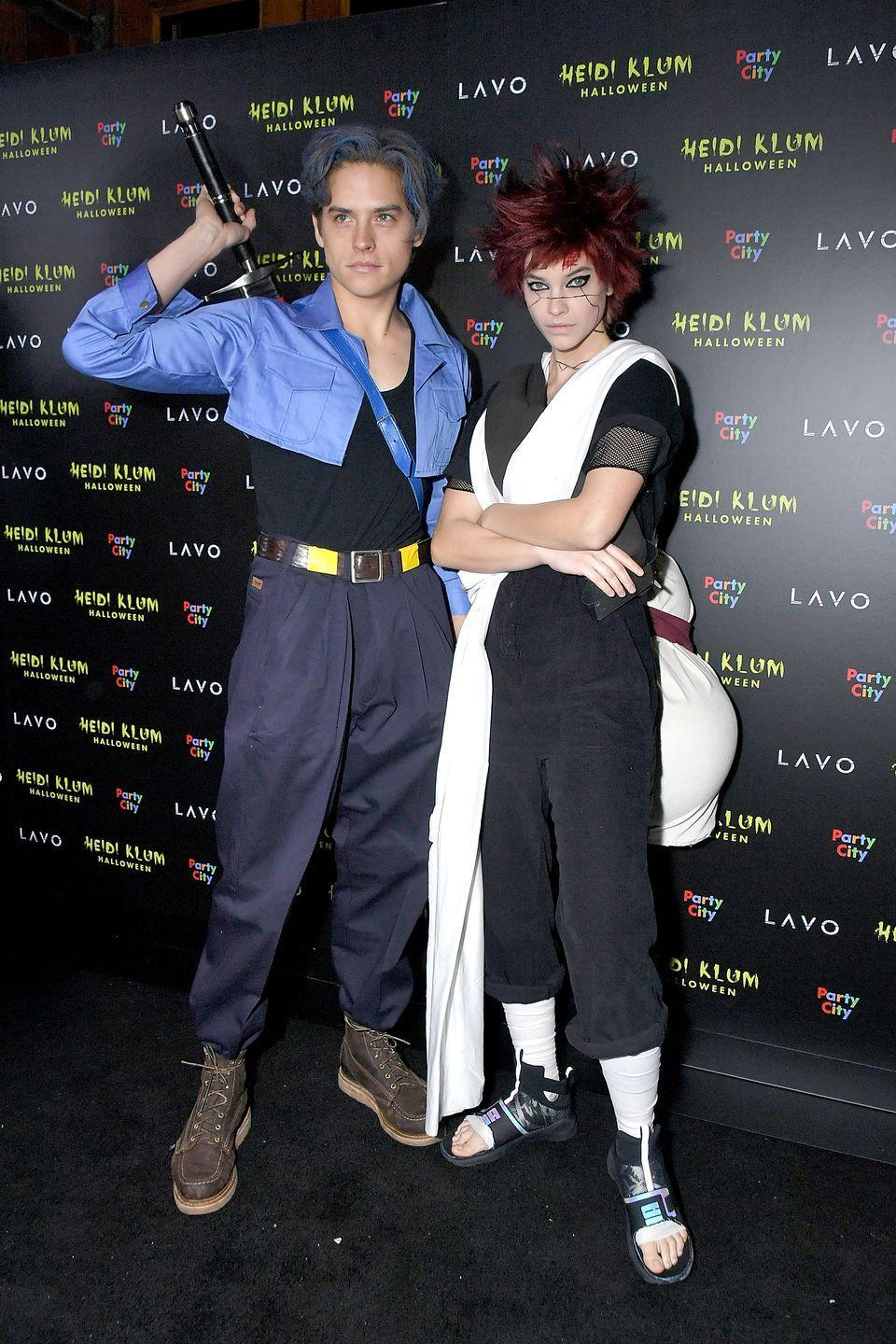 <p>At Heidi Klum's famed Halloween bash in 2018, Dylan Sprouse and Barbara Palvin donned coordinating anime costumes. (Visit a cosplay store for an easy re-creation.)</p>