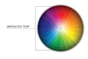 Top Ways Infographics Can Increase Site Traffic and Improve Appearance image color wheel