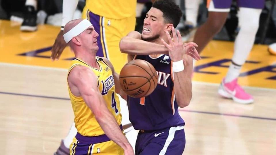 NBA: Los Angeles Lakers eliminated in first round of playoffs