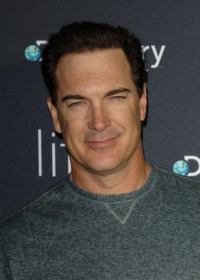 "<a href=""/patrick-warburton/contributor/30782"">Patrick Warburton</a> arrives arrives at Discovery Channel's Los Angeles Screening of <a href=""/life/show/44198"">""Life""</a> at the Getty Center on February 25, 2010."