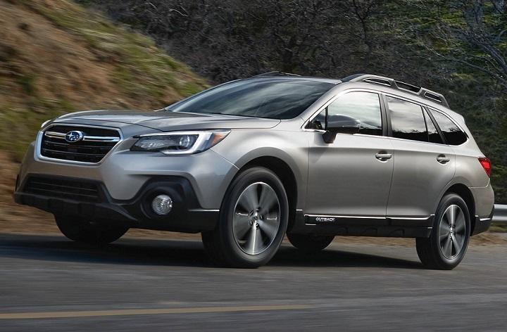 2018 Subaru Outback front quarter left photo