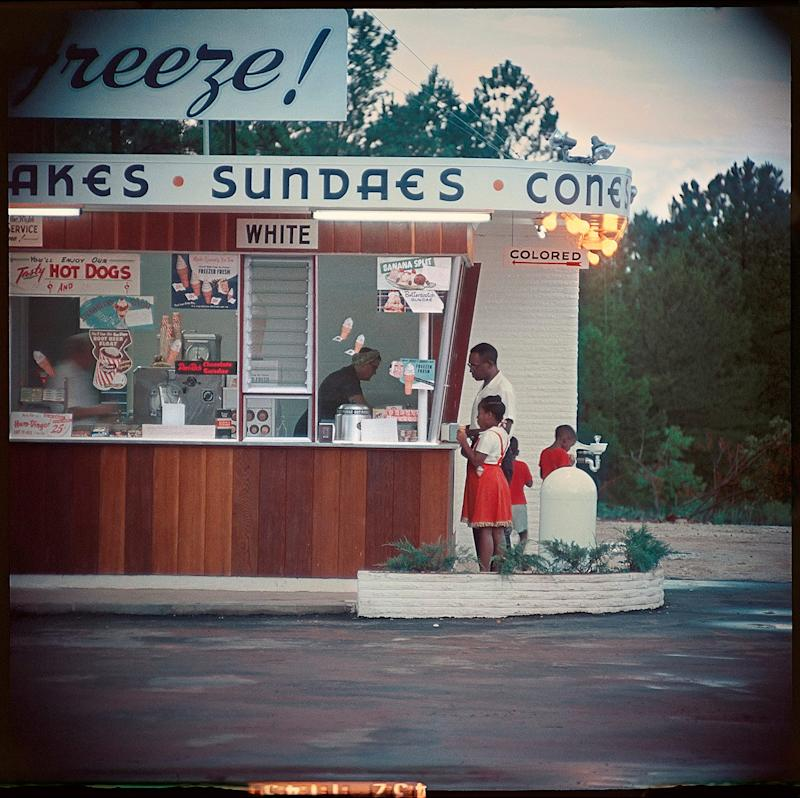 Untitled, Shady Grove, Alabama (1956, detail) by Gordon Parks - The Gordon Parks Foundation (NY)/ Alison Jacques Gallery (London)