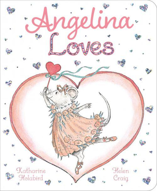 PHOTO: Cover of the book Angelina Loves, written by Katherine Holabird and illustrated by Helen Craig (Courtesy of Simon & Schuster )