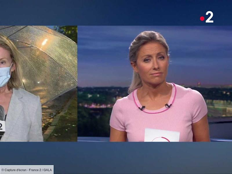 VIDEO - Anne-Sophie Lapix : ce couac en direct qui l'a mise dans l'embarras