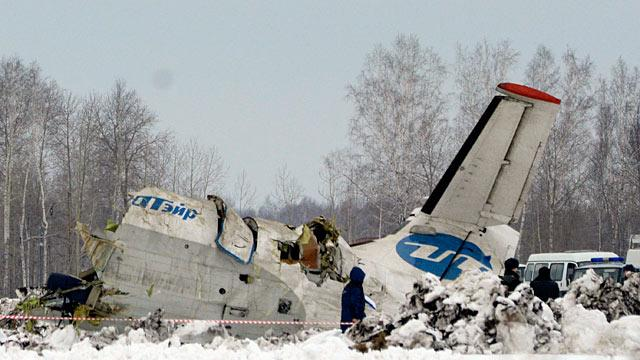 Dramatic Plane Crash Kills Dozens in Siberia