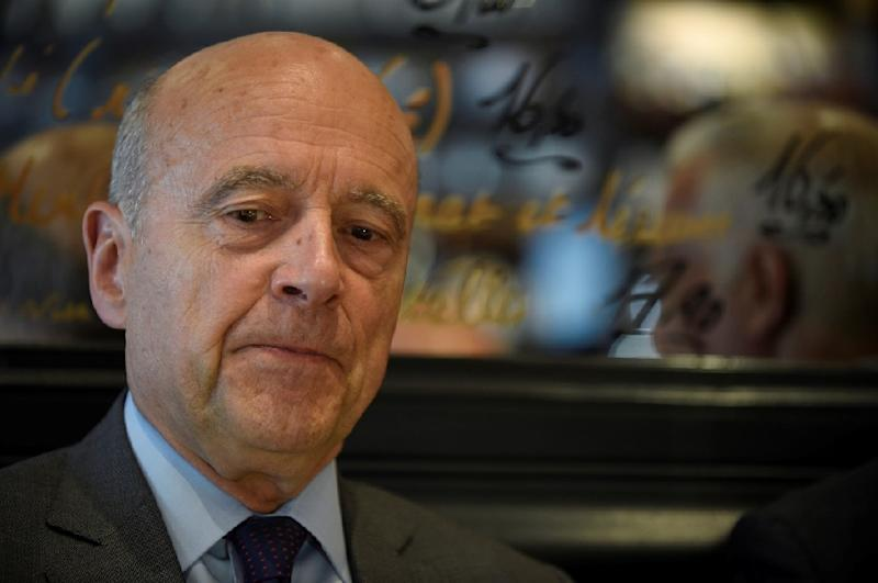 Former prime minister Alain Juppe, now an elder statesman of the right-wing Republicans party, warned of the dangers of giving Macron's party an overwhelming majority (AFP Photo/)