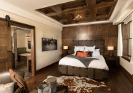 "<p>Ree Drummond never passes up a chance to decorate with cowhide rugs: She has them all over her house and her guest lodge, <a href=""https://www.thepioneerwoman.com/ree-drummond-life/a32095268/ree-drummond-boarding-house-rooms-cost-how-to-book/"" rel=""nofollow noopener"" target=""_blank"" data-ylk=""slk:The Boarding House"" class=""link rapid-noclick-resp"">The Boarding House</a>. ""Through the years, I've seen very few rooms that can't be made better with cowhides,"" she says. Yes, they feel right at home in a Western or rustic-style <a href=""https://www.thepioneerwoman.com/home-lifestyle/g35637046/guest-room-ideas/"" rel=""nofollow noopener"" target=""_blank"" data-ylk=""slk:guest room"" class=""link rapid-noclick-resp"">guest room</a> (just take a look at The Boarding House's <a href=""https://www.thepioneerwoman.com/ree-drummond-life/a32095268/ree-drummond-boarding-house-rooms-cost-how-to-book/"" rel=""nofollow noopener"" target=""_blank"" data-ylk=""slk:Ranch Room"" class=""link rapid-noclick-resp"">Ranch Room</a>) but really, they can go in any room and with any type of décor. Plus, they're super durable. ""They don't rip or stain, no matter how many muddy boots may walk on them!"" Ree says. <br></p><p>Ree tends to gravitate toward traditional brown and white hides, which include patterns like palomino and salt and pepper and are probably what you picture when you hear cowhide. But she's recently become a fan of some of the wilder, more modern cowhide rugs that are being made, like super-saturated dyed rugs, stenciled rugs, and rugs sprinkled with paint and/or metallic spots. <br></p><p>Any of these hides—modern or traditional—would look stylish layered over other rugs like a simple sisal or <a href=""https://www.amazon.com/nuLOOM-Handwoven-Rigo-Jute-Natural/dp/B00SWW1JSU/ref=asc_df_B00SWW1JSU/?tag=syn-yahoo-20&ascsubtag=%5Bartid%7C2164.g.35864399%5Bsrc%7Cyahoo-us"" rel=""nofollow noopener"" target=""_blank"" data-ylk=""slk:jute rug"" class=""link rapid-noclick-resp"">jute rug</a>, but they're also great on their own. They help add texture to a space, so they work in dining rooms, offices, bedrooms—you name it! If you think you're not a cowhide person, think again, because there might be something here to steer you in a new direction.<br></p><p><strong>Want more recipes, design ideas, and fun updates from Ree? Follow </strong><a href=""https://www.facebook.com/thepioneerwomanmagazine"" rel=""nofollow noopener"" target=""_blank"" data-ylk=""slk:The Pioneer Woman Magazine on Facebook"" class=""link rapid-noclick-resp"">The Pioneer Woman Magazine on Facebook</a><strong> for all of that and more!</strong></p>"