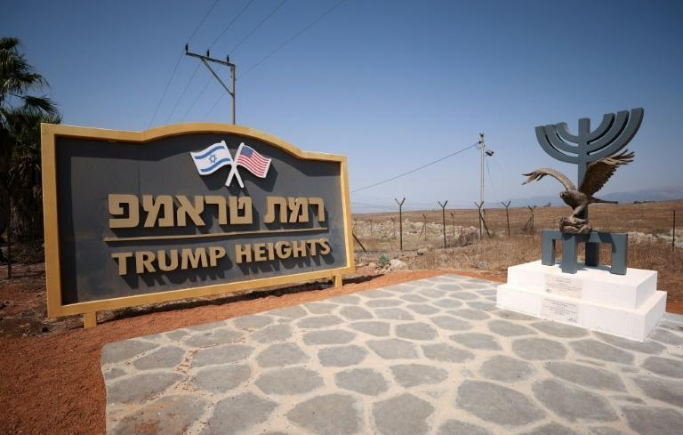 """Trump Heights"" is a remote settlement in the Israeli-occupied Golan Heights"