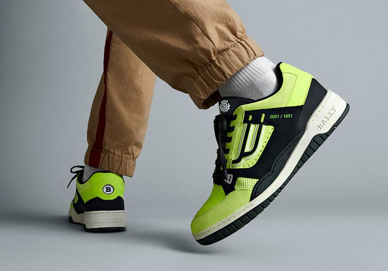 9dec9a8a77318 Bally Celebrates Its Heritage With an Update to This Retro Tennis Shoe