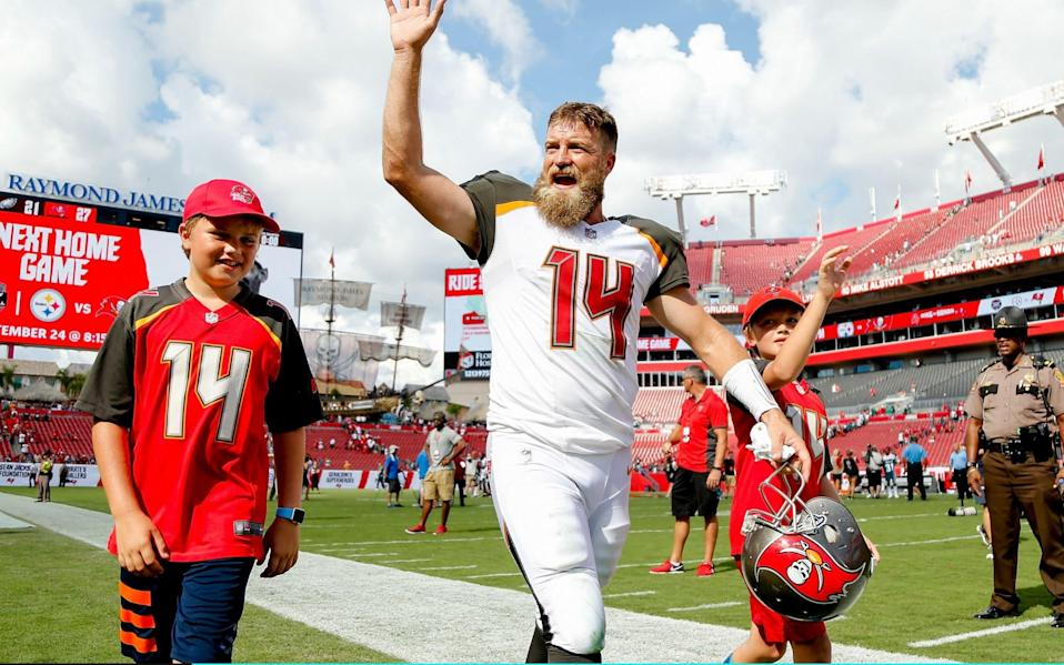 Ryan Fitzpatrick put up back-to-back 400-yard passing games in a hot start for Tampa. (Getty Images)