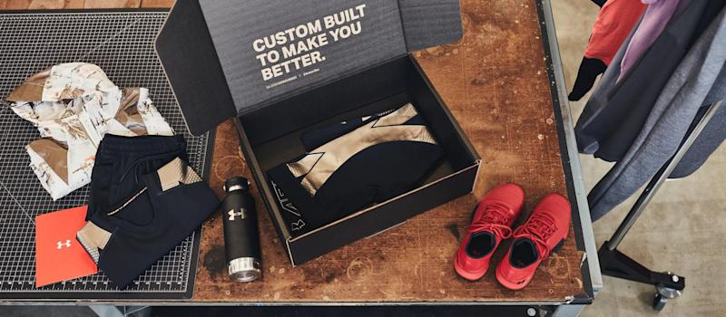 """Under Armour products in a subscription-based """"Under Armour Box"""""""
