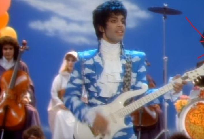 Prince in the Raspberry Beret video from 1985.