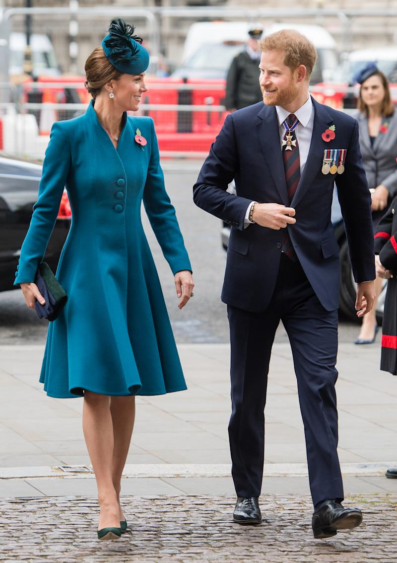 Kate Middleton spoke to brother-in-law Prince Harry