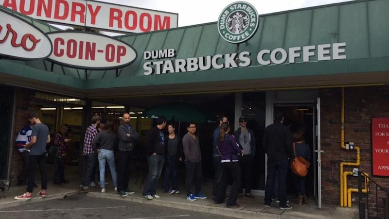 Dumb Starbucks by Nathan For You