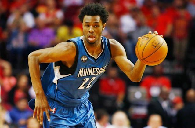 Andrew Wiggins is another one of Minnesota's tantalizing pieces. (Getty Images)