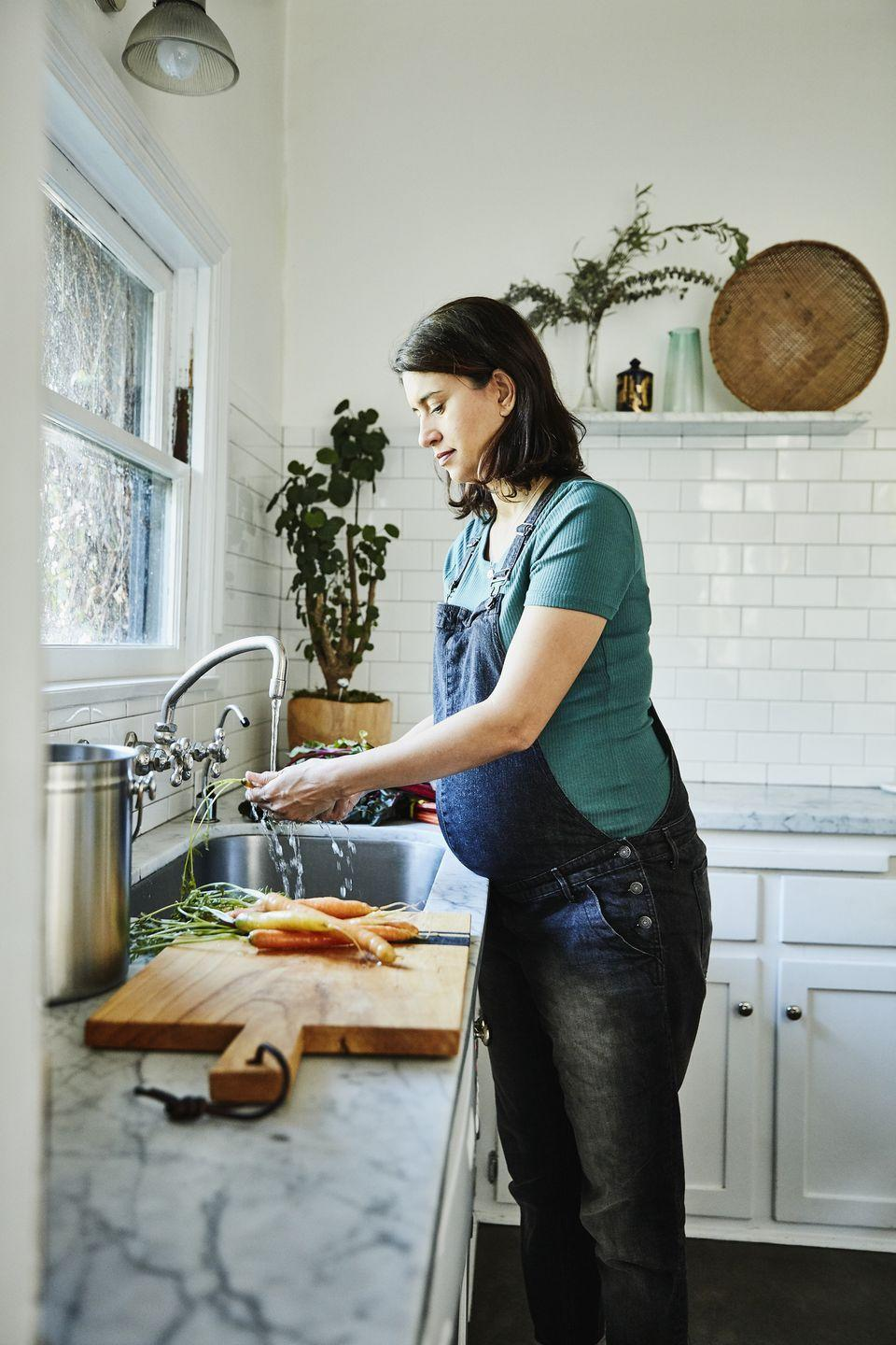"""<p>Time spent in the kitchen isn't just about cooking: cleaning up after a homemade meal can feel exhausting. That's why almost every chef recommended cleaning as you go, which might feel overwhelming, but is actually easier than it seems and worth it in the end. """"I always have a 'trash bowl' nearby while cooking and prepping ingredients,"""" says Sidorenkov. """"Having a small bowl near your work station or cutting board designated for scraps or other disposable items saves you a trip to the trash, improves workflow, and helps you cook more efficiently."""" </p><p>Sidorenkov also recommends ensuring every tool and gadget you use is dishwasher-safe. """"After cooking a long meal, the last thing I want to do is hand wash decorative accessories I used while cooking,"""" she explains. """"Being able to just throw everything in the dishwasher is such a nice feeling and saves me a ton of time! I really like to have real kitchen tools that prioritize utility and not decoration."""" </p>"""