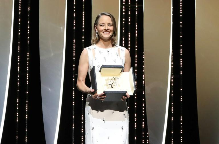 Cannes awarded Jodie Foster its top lifetime achievement award