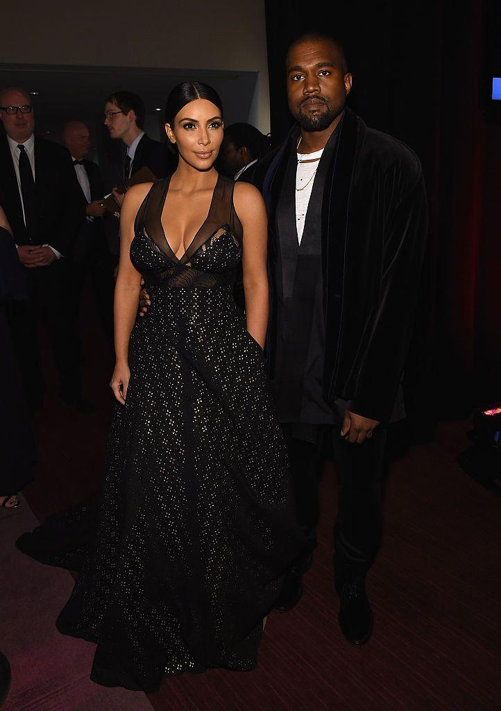 <p>On the night Amy Schumer staged a fall and landed right in front of them on the red carpet... Kim and Kanye attended the Most Influential People in the World gala as honourees.</p>