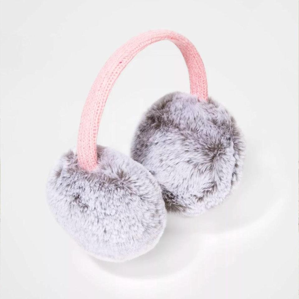 "May the prospect of bundling up with cozy, cold-weather accessories be enough to entice your kids into going outdoors—and keep them out there as the weather gets chillier. $10, Target. <a href=""https://www.target.com/p/girls-39-faux-fur-earmuffs-cat-38-jack-8482-gray-one-size/-/A-79431725"" rel=""nofollow noopener"" target=""_blank"" data-ylk=""slk:Get it now!"" class=""link rapid-noclick-resp"">Get it now!</a>"