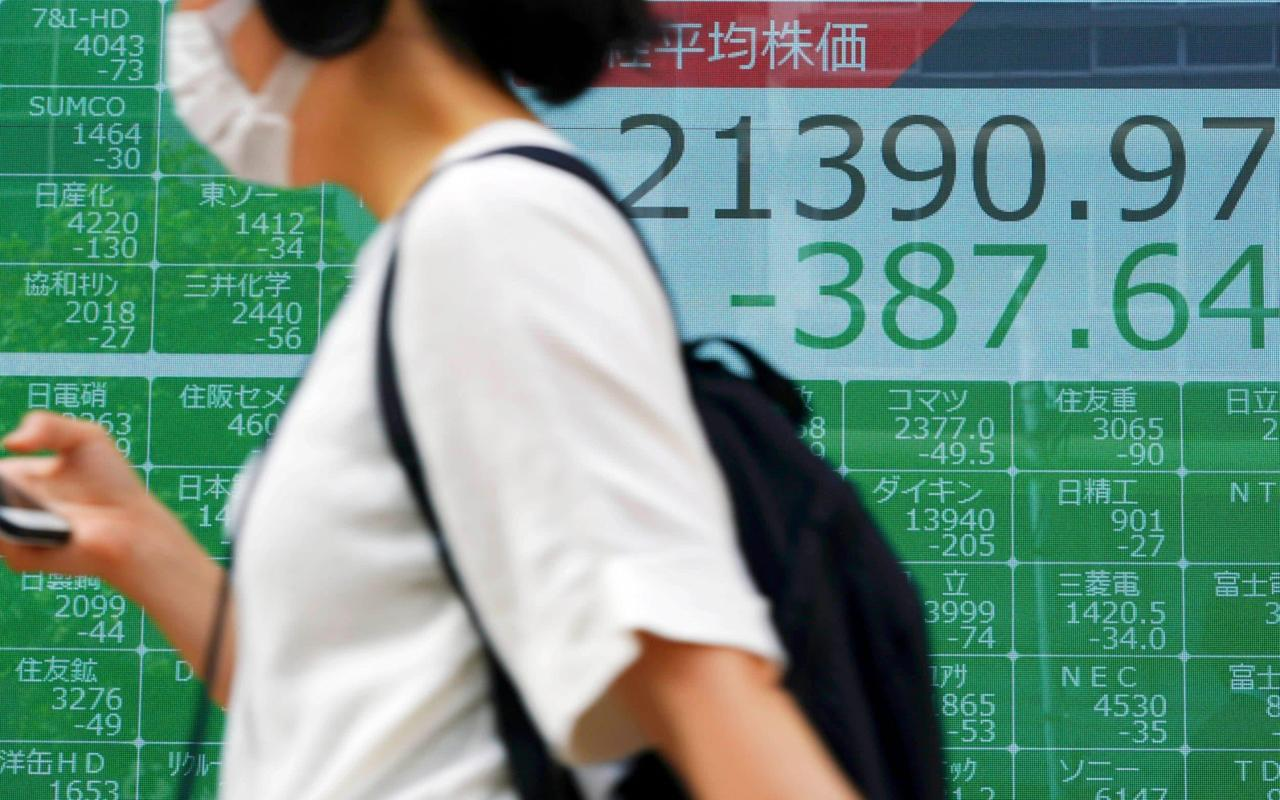 Global stock market rout continues as Asian stocks tumble