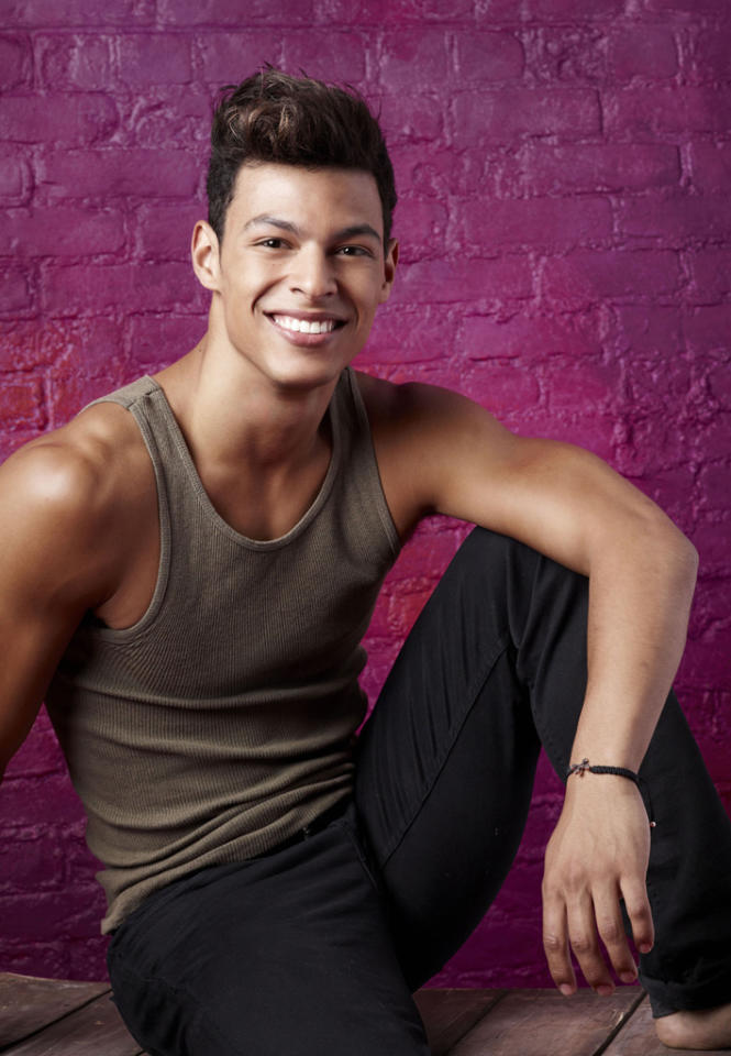 "Chehon Wespi-Tschopp (23), is a Ballet dancer from Zurich, Switzerland, on ""So You Think You Can Dance."""