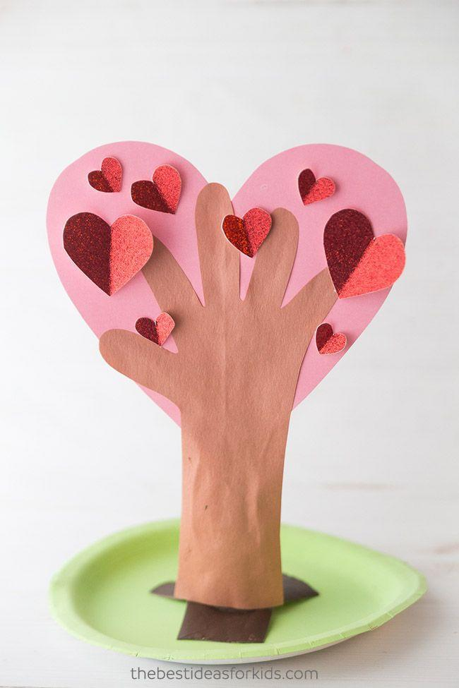 """<p>In this project, kids transform their traced handprint into a flourishing holiday tree. Three-dimensional hearts make it visually pop, and a green-painted paper plate serves as a stand.</p><p><em><a href=""""https://www.thebestideasforkids.com/handprint-heart-tree/"""" rel=""""nofollow noopener"""" target=""""_blank"""" data-ylk=""""slk:Get the how-to at The Best Ideas for Kids»"""" class=""""link rapid-noclick-resp"""">Get the how-to at The Best Ideas for Kids»</a></em><br></p>"""
