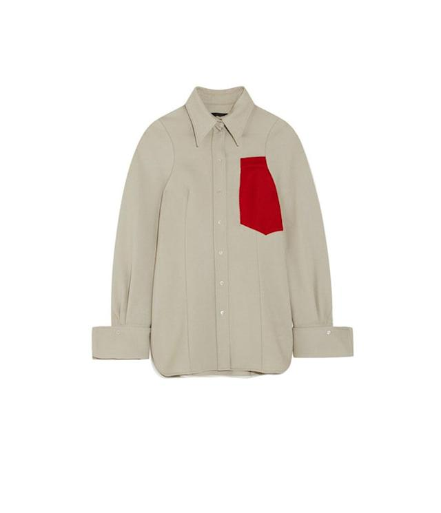 "<p>Moss appliquéd wool shirt, $745 (on sale $373), <a href=""https://www.net-a-porter.com/us/en/product/939141/Joseph/moss-appliqued-wool-shirt"" rel=""nofollow noopener"" target=""_blank"" data-ylk=""slk:net-a-porter.com"" class=""link rapid-noclick-resp"">net-a-porter.com</a> </p>"