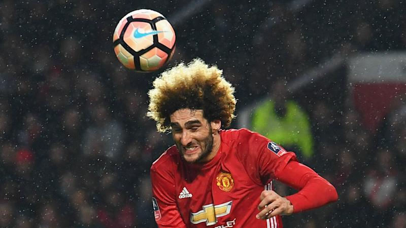 Manchester United midfielder Fellaini ends Premier League goal drought