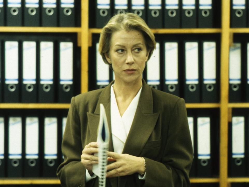 Mirren starred as DCI Jane Tennison in La Plante's hit series 'Prime Suspect'ITV/Shutterstock
