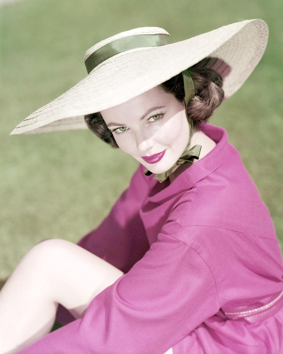 The actress photographed sometime around 1945.