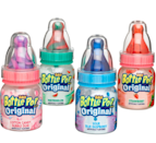 <p><strong>Baby Bottle Pops</strong></p><p>Licking the lollipop, flipping it around, and shaking it like crazy until it was coated in sweet sugar was incredible to me as a child (as still is today). And the song was just too catchy. </p>