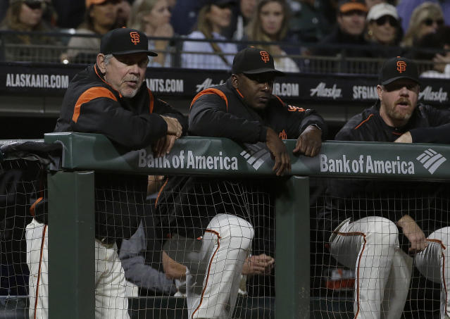 There's no way Bruce Bochy is leaving the Giants. (AP Photo/Jeff Chiu)