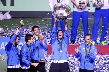 Argentina, Britain handed spots in revamped Davis Cup finals